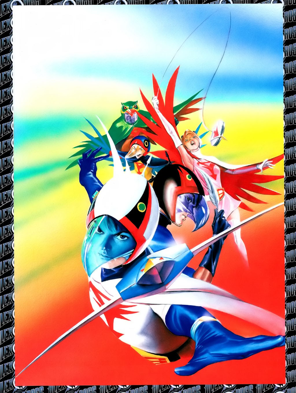 Read online Alex Ross: Battle of the Planets Artbook comic -  Issue # Full - 5