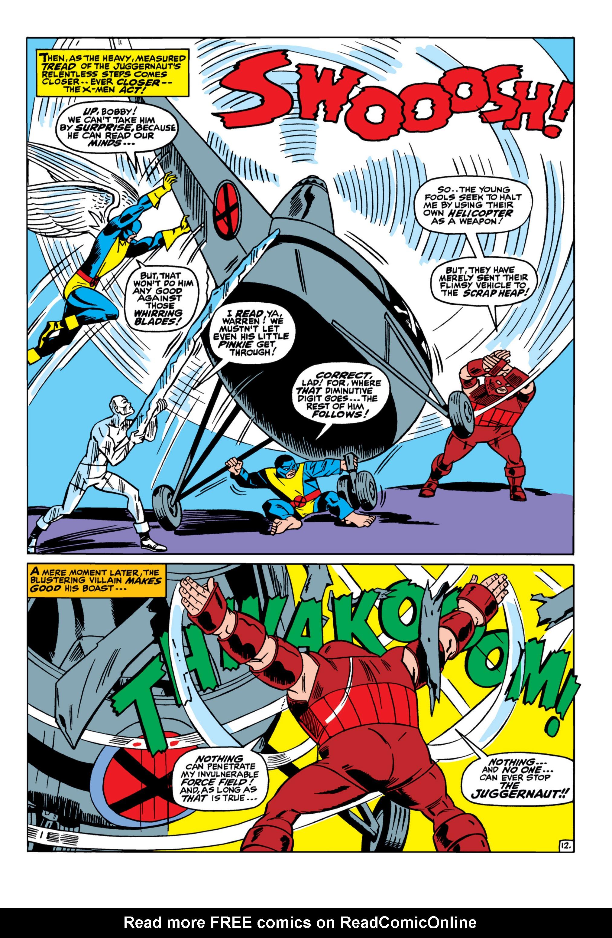 Uncanny X-Men (1963) 33 Page 12