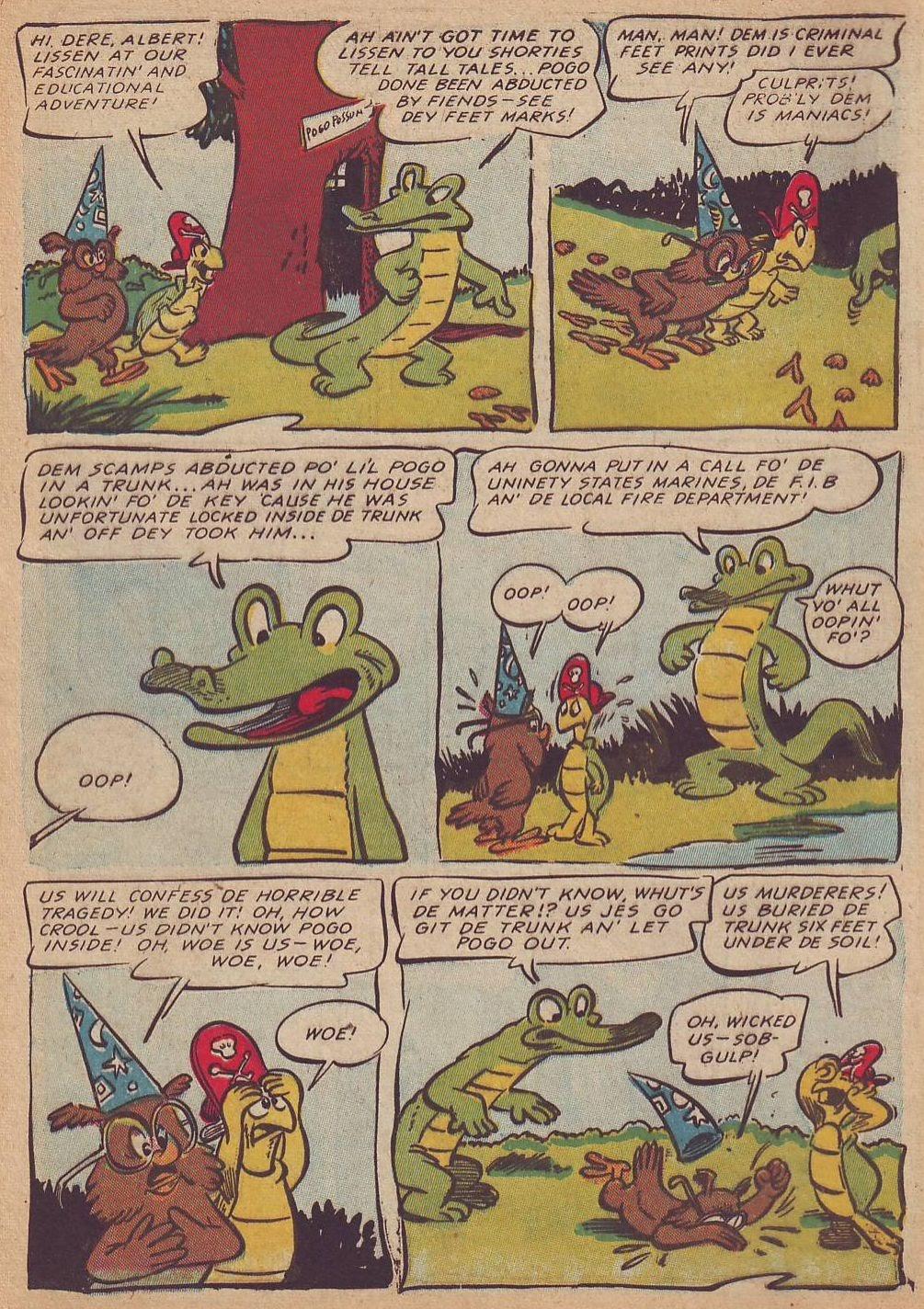 Read online Animal Comics comic -  Issue #23 - 10
