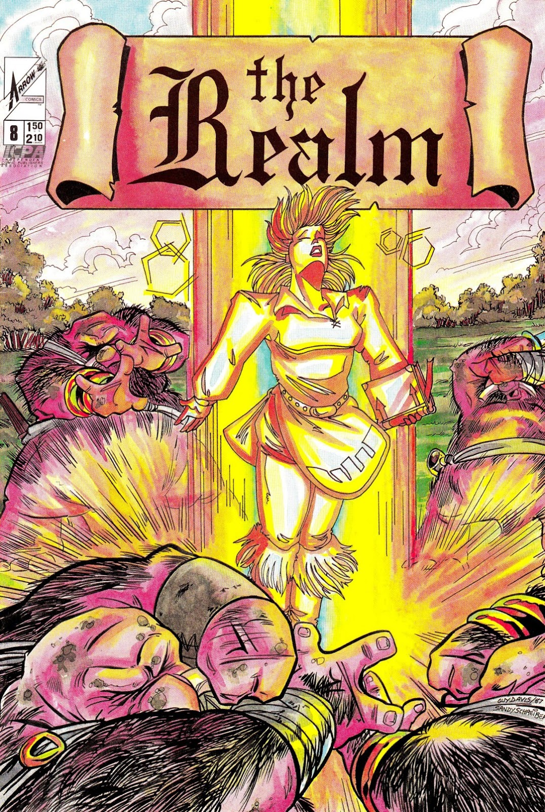 The Realm (1986) issue 8 - Page 1