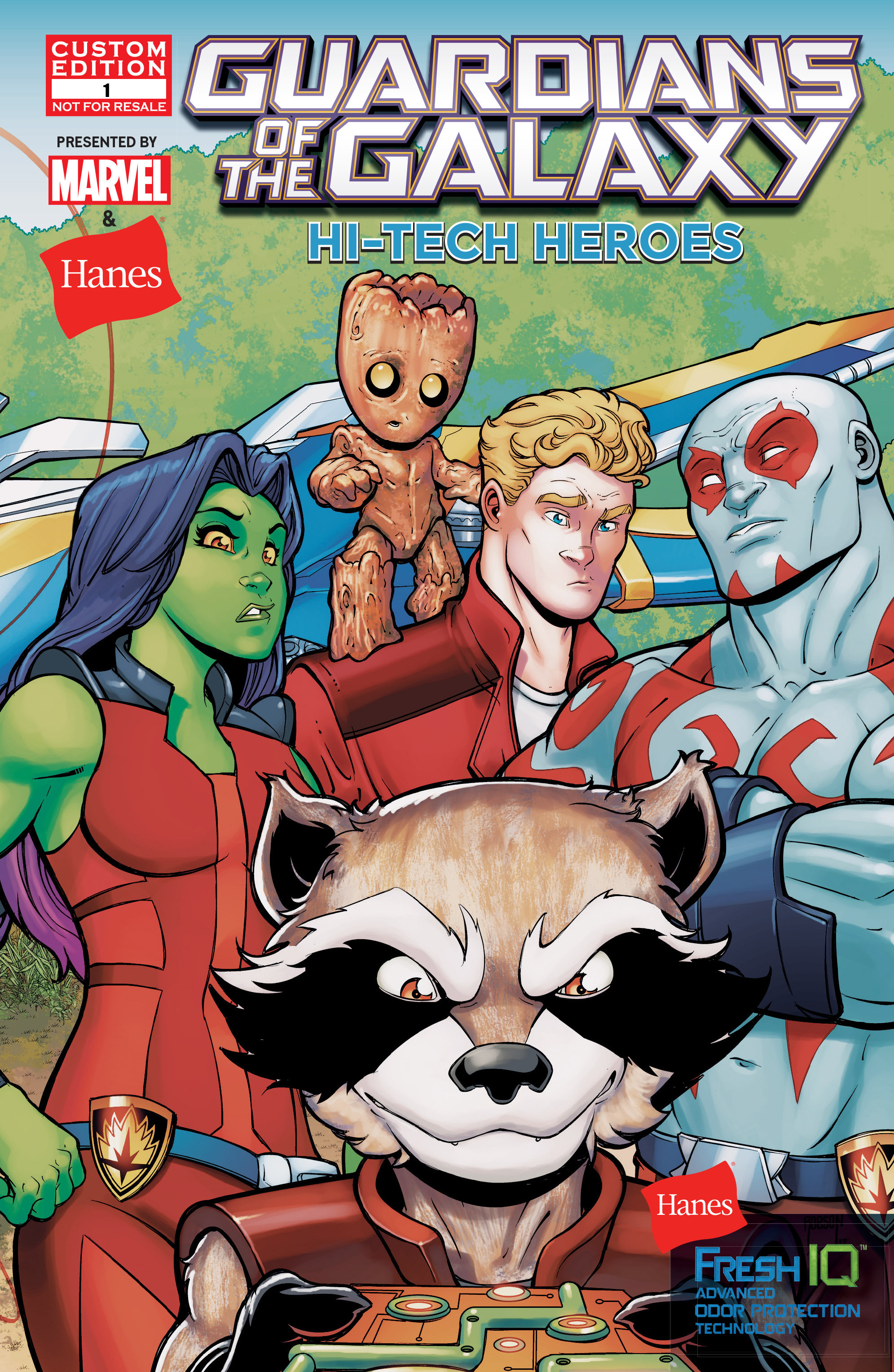 Read online Hi-Tech Heroes Presented By Hanes comic -  Issue # Full - 1