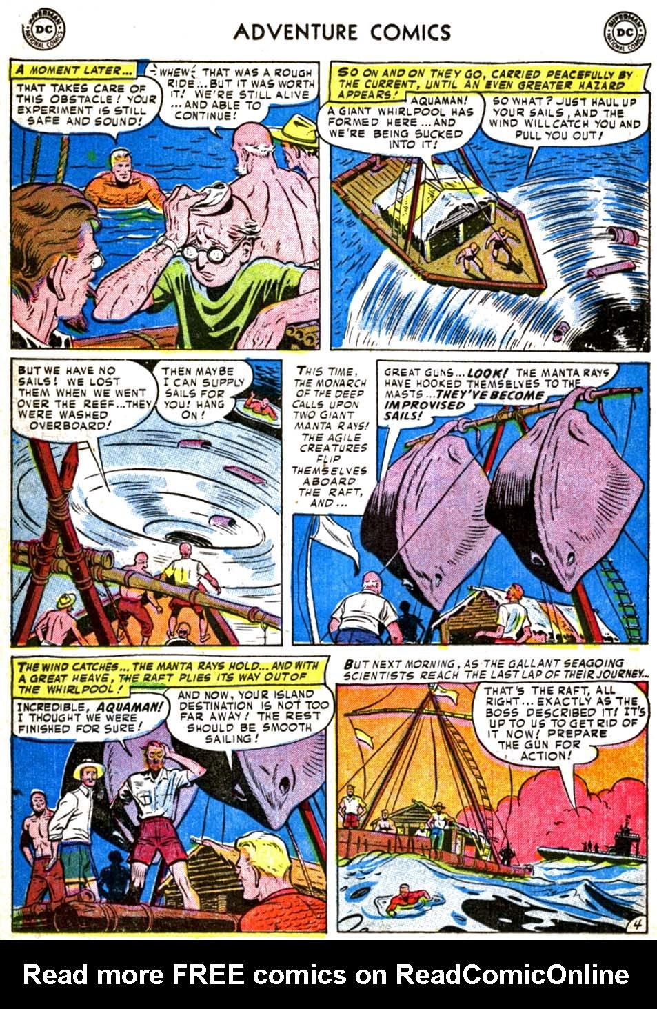 Read online Adventure Comics (1938) comic -  Issue #179 - 20