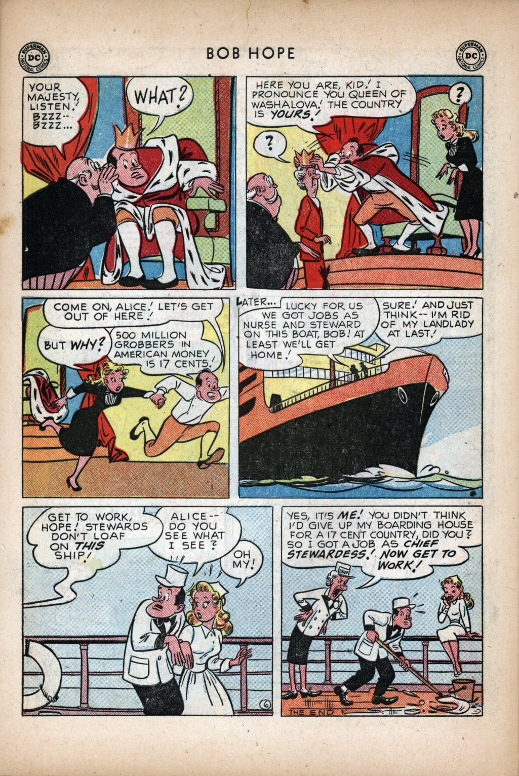 The Adventures of Bob Hope issue 11 - Page 40