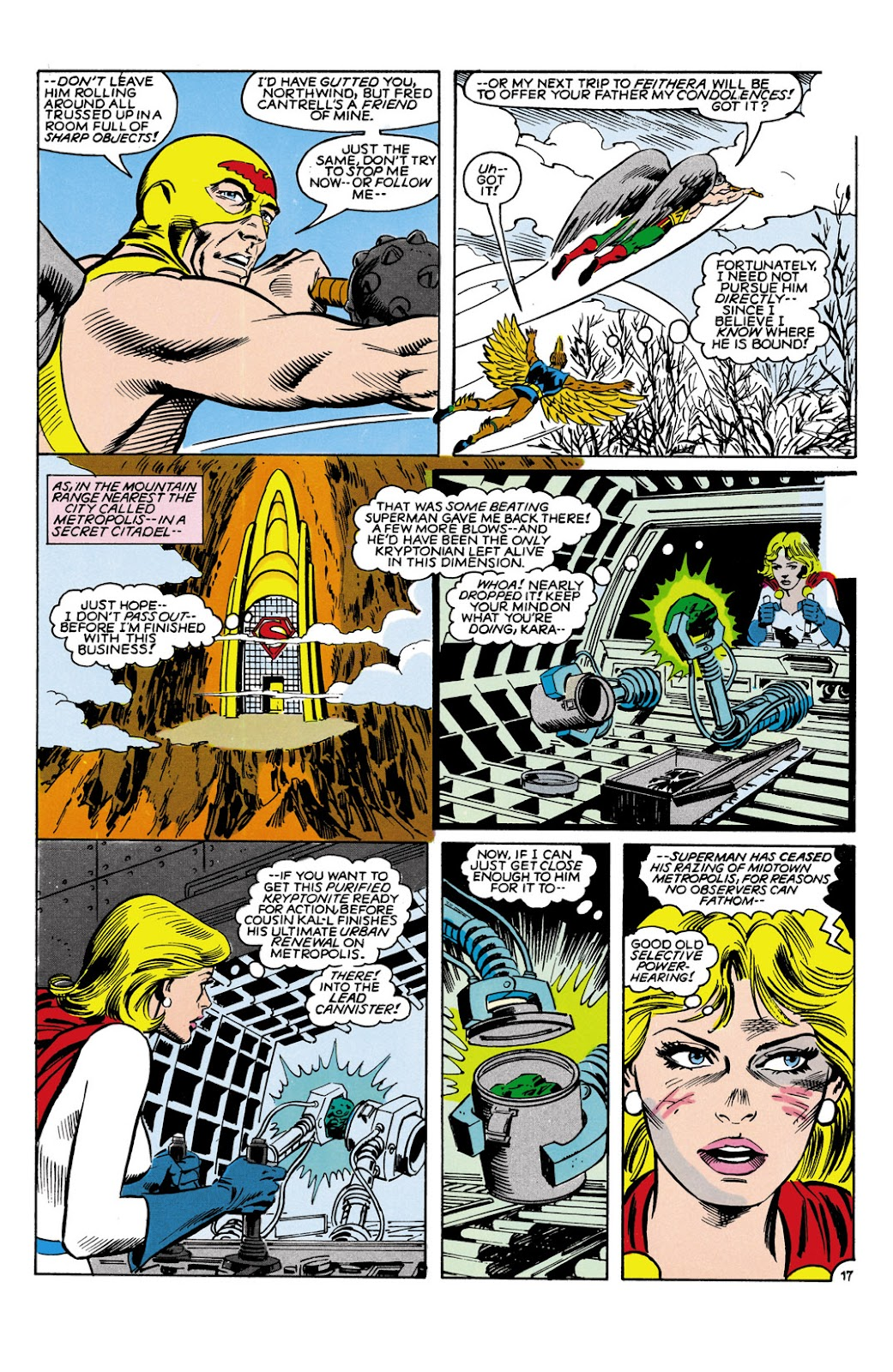 Infinity Inc. (1984) issue 9 - Page 17
