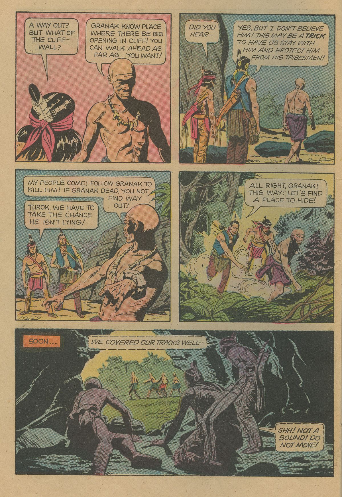 Read online Turok, Son of Stone comic -  Issue #103 - 6