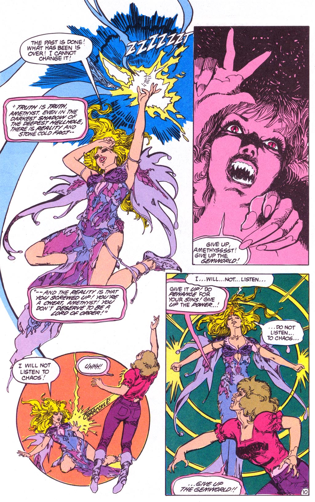Read online Amethyst (1987) comic -  Issue #3 - 12