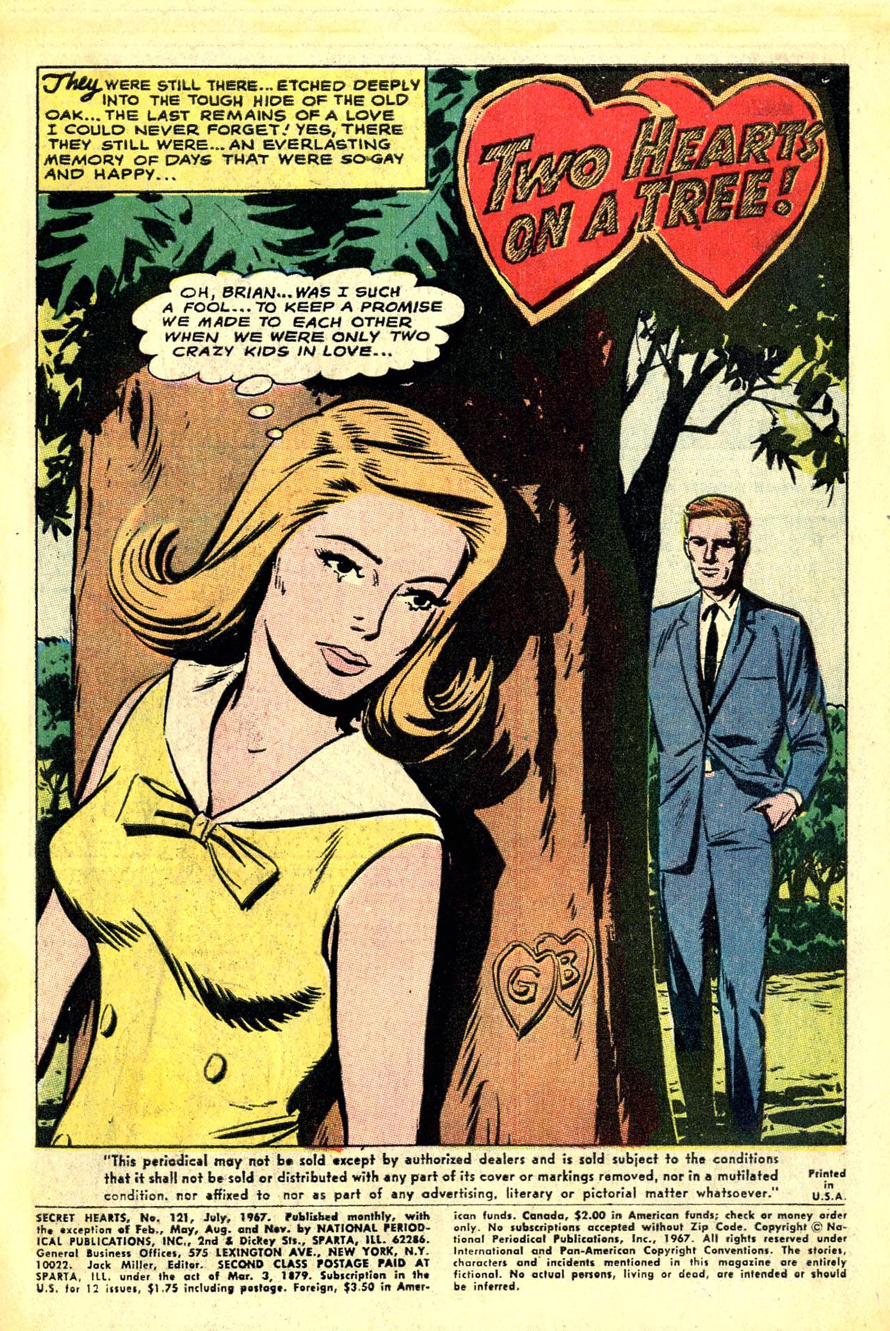 Read online Secret Hearts comic -  Issue #121 - 3