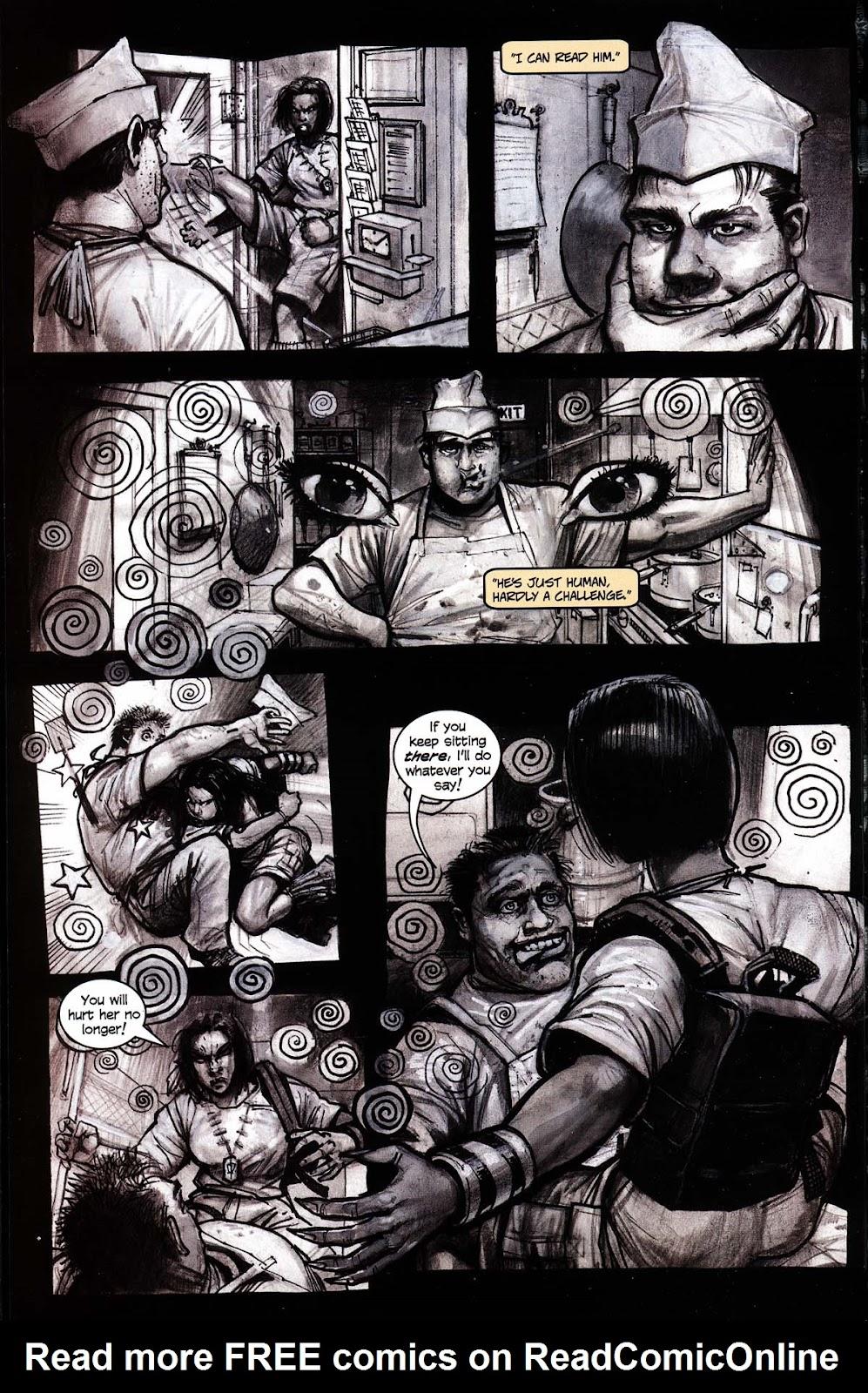 Read online Werewolf the Apocalypse comic -  Issue # Black Furies - 48