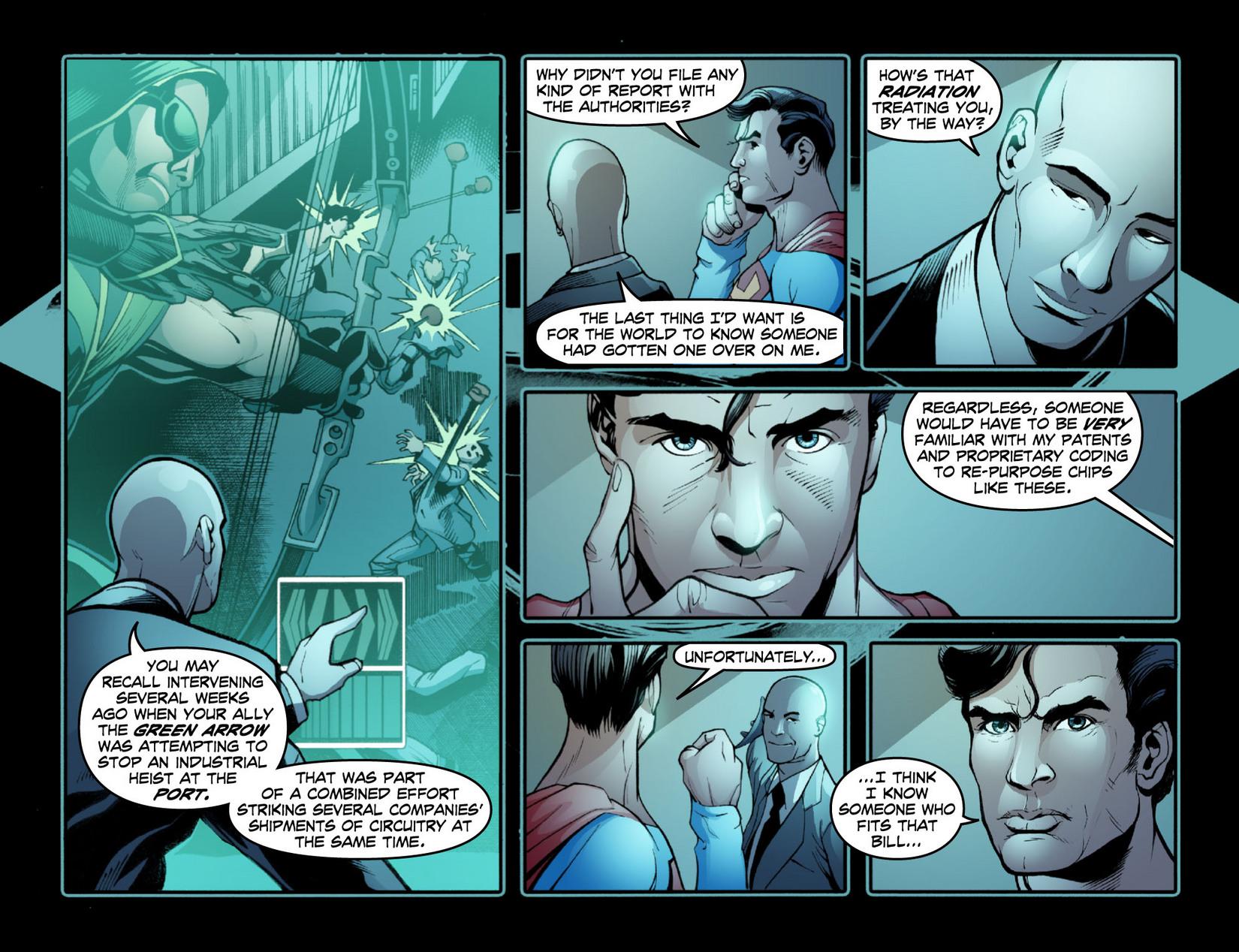 Read online Smallville: Season 11 comic -  Issue #15 - 14
