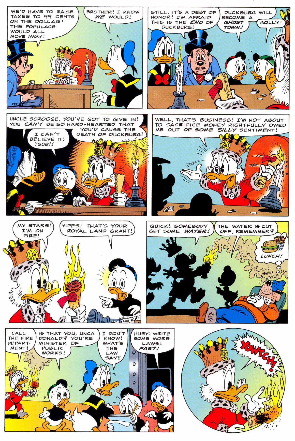 Read online Uncle Scrooge (1953) comic -  Issue #331 - 28