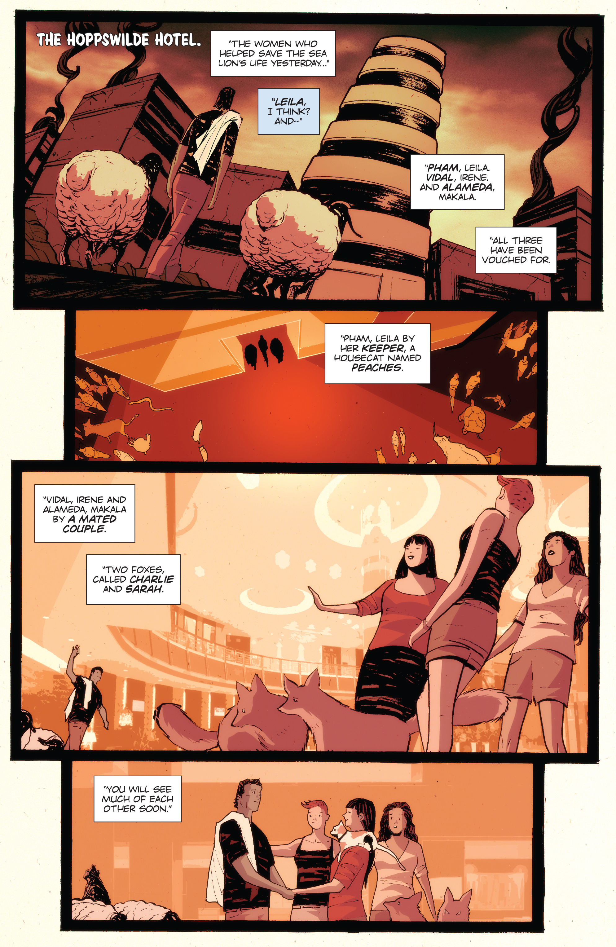 Read online Animosity: The Rise comic -  Issue #Animosity: The Rise Full - 15