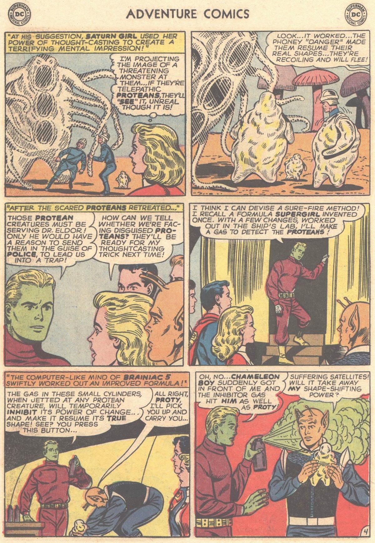 Read online Adventure Comics (1938) comic -  Issue #334 - 6