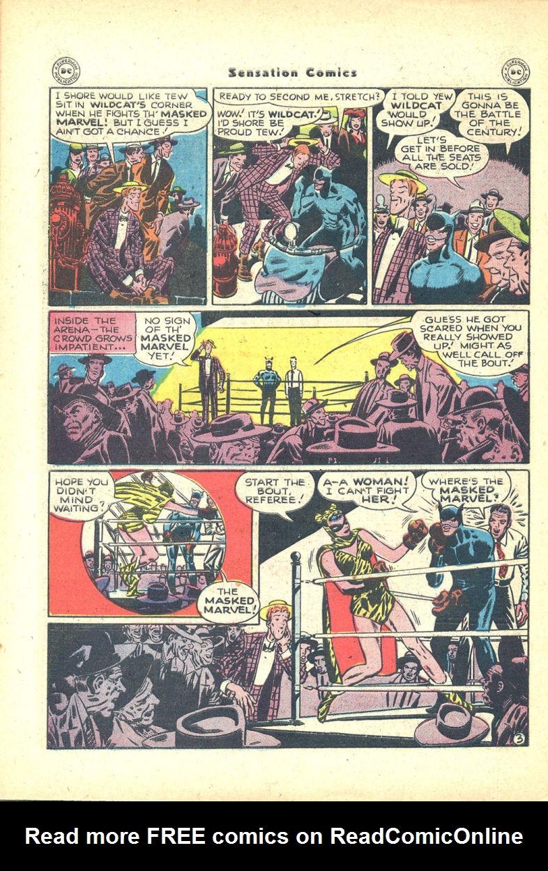 Read online Sensation (Mystery) Comics comic -  Issue #68 - 44