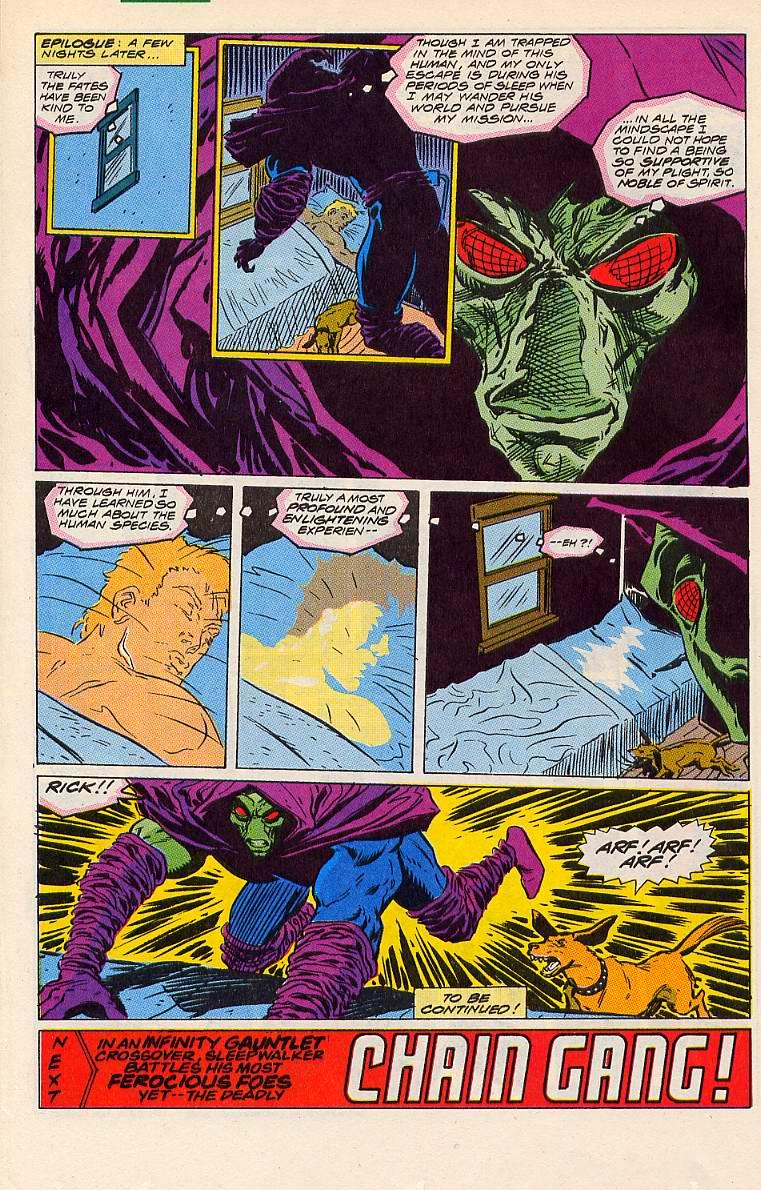Read online Sleepwalker comic -  Issue #6 - 23