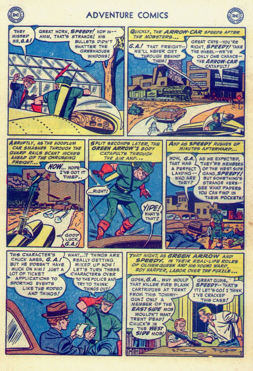 Read online Adventure Comics (1938) comic -  Issue #201 - 40