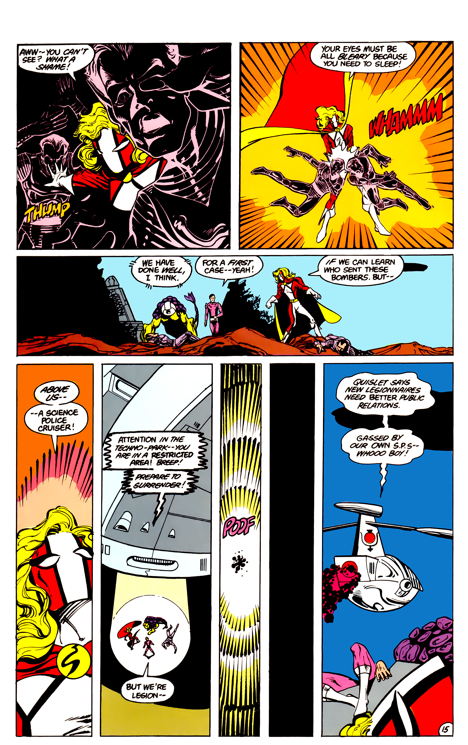 Legion of Super-Heroes (1984) 16 Page 16