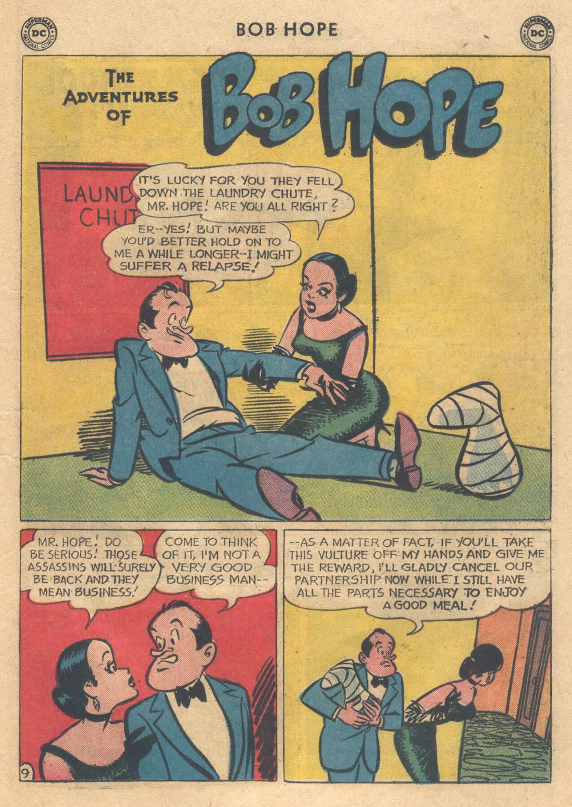 The Adventures of Bob Hope issue 76 - Page 13