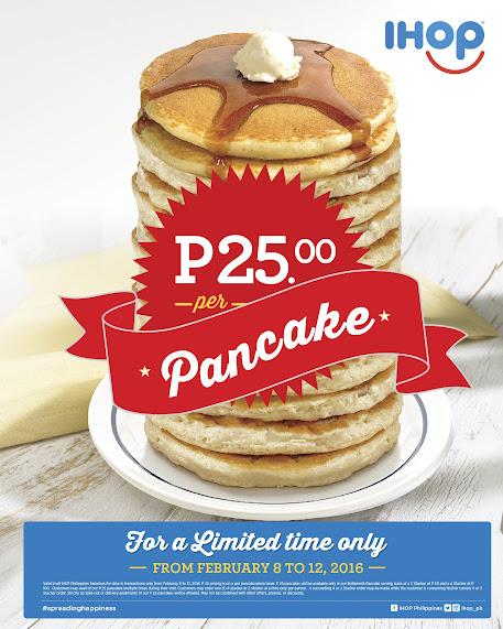 ihop 25 pancake promotion