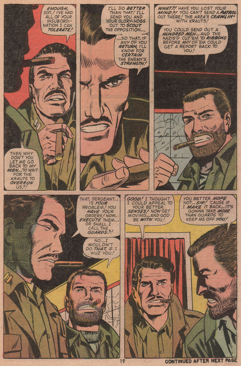 Read online Sgt. Fury comic -  Issue #104 - 21