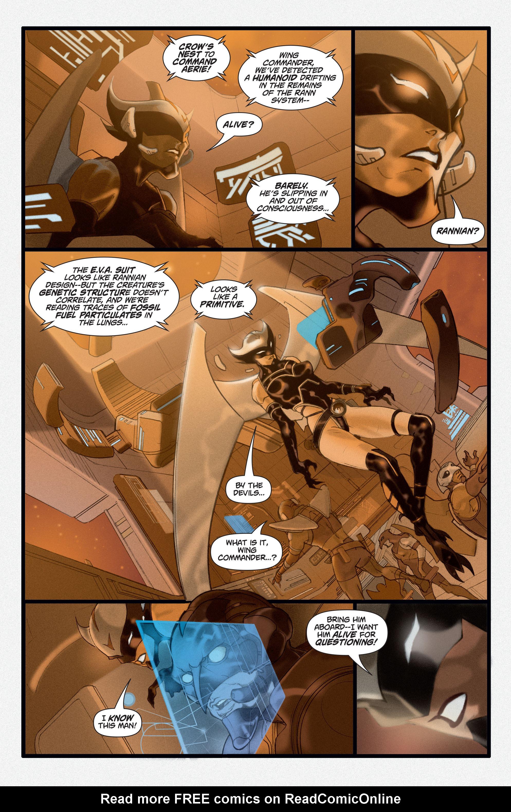 Read online Adam Strange (2004) comic -  Issue #3 - 6