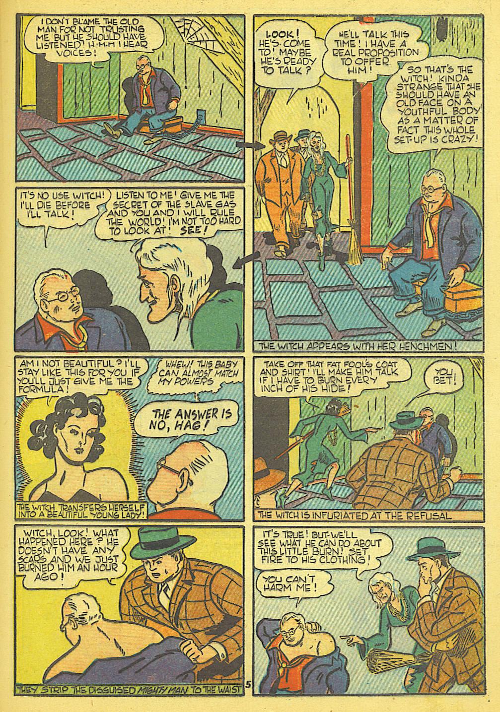 Read online Amazing Man Comics comic -  Issue #19 - 39