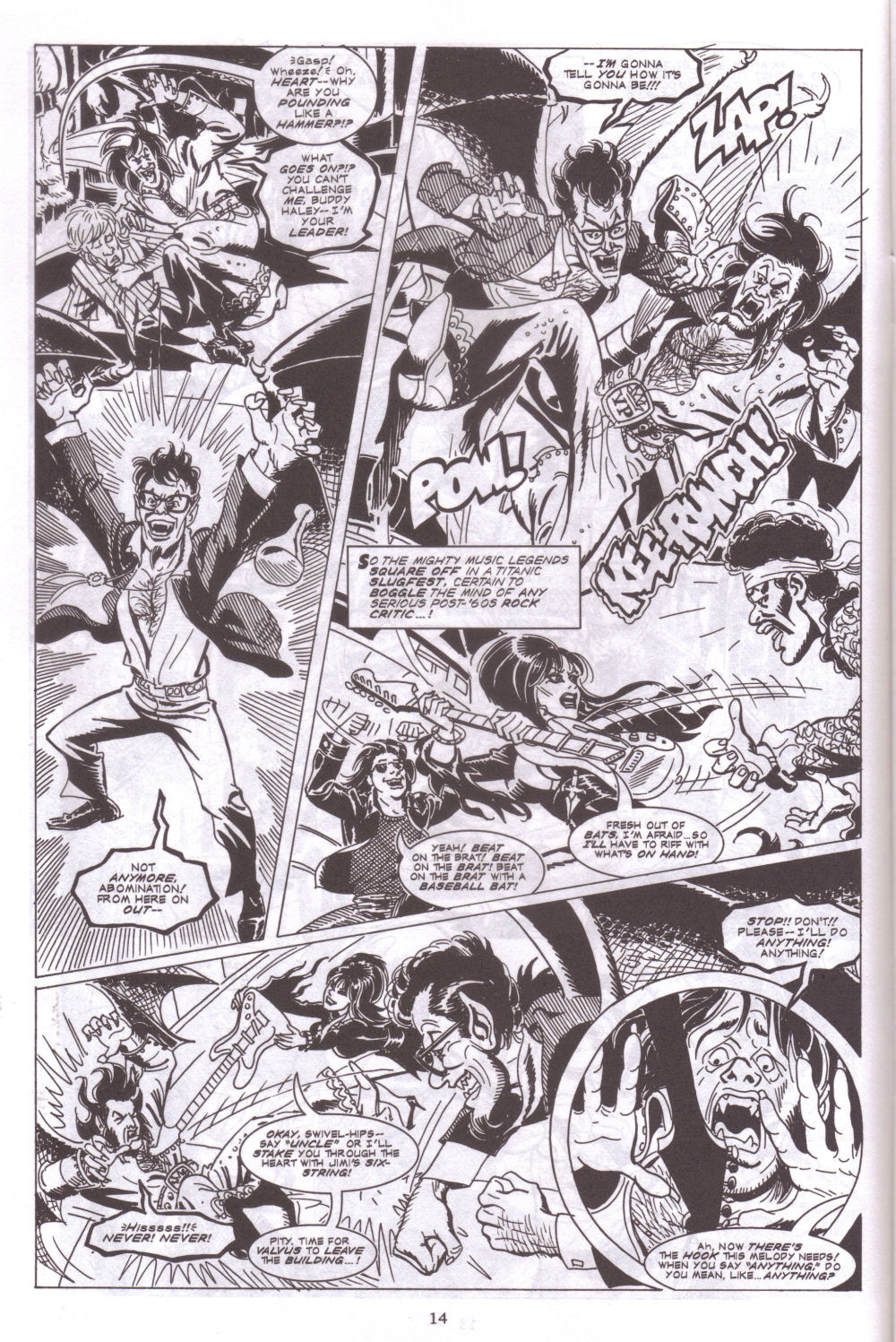 Read online Elvira, Mistress of the Dark comic -  Issue #127 - 16