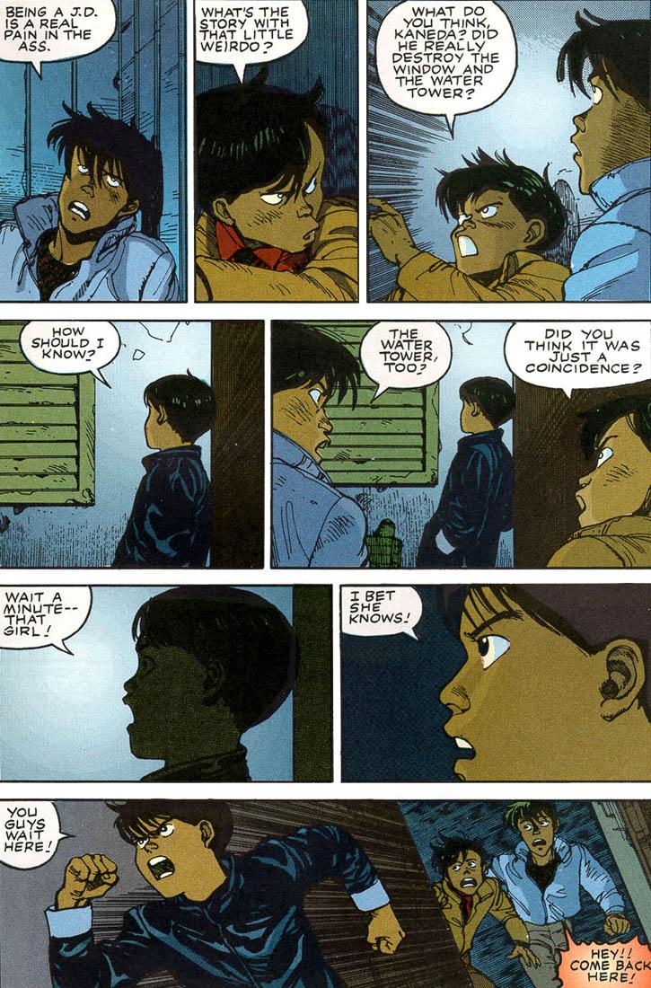 Read online Akira comic -  Issue #1 - 52