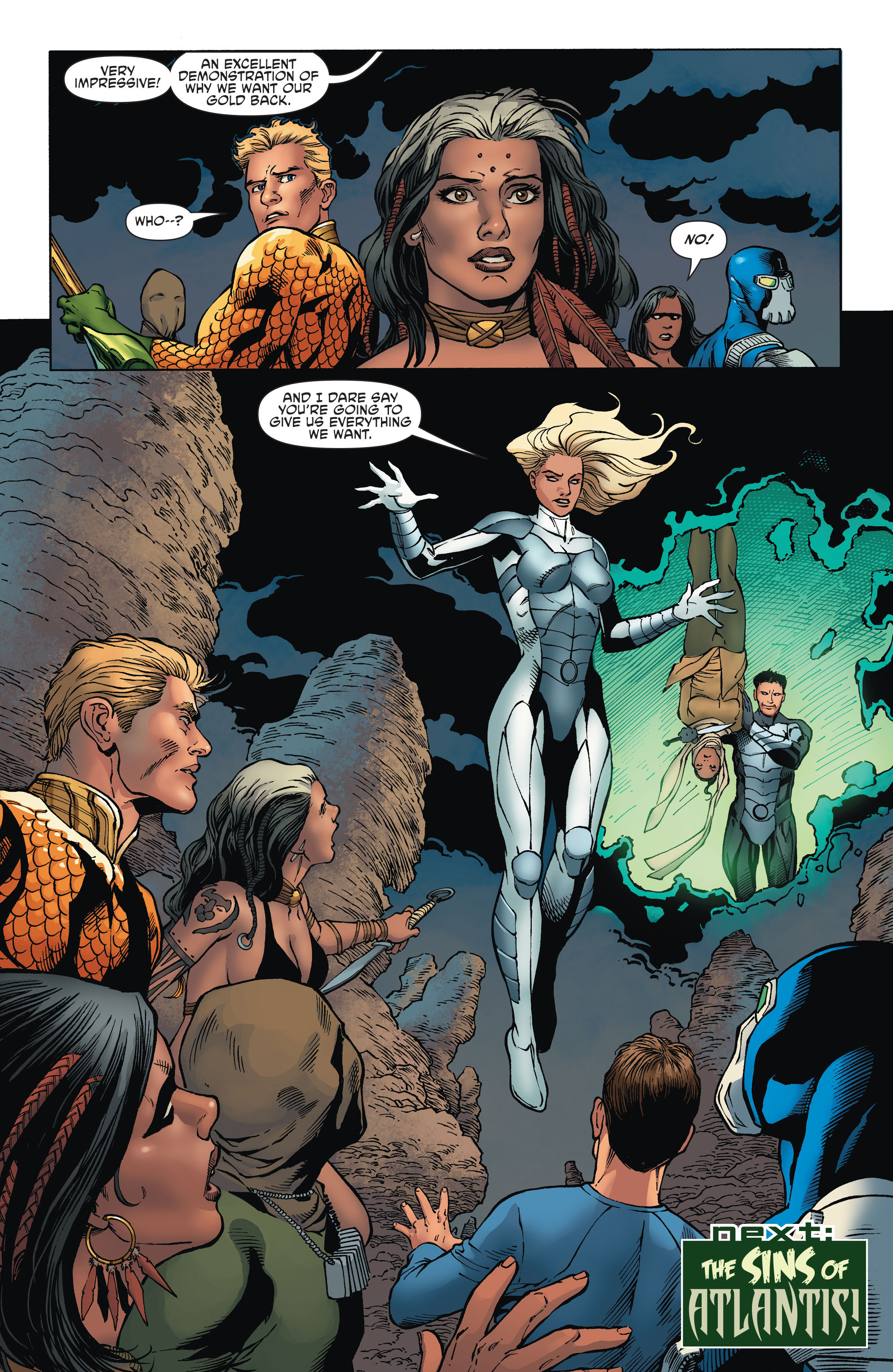 Read online Aquaman and the Others comic -  Issue #2 - 21
