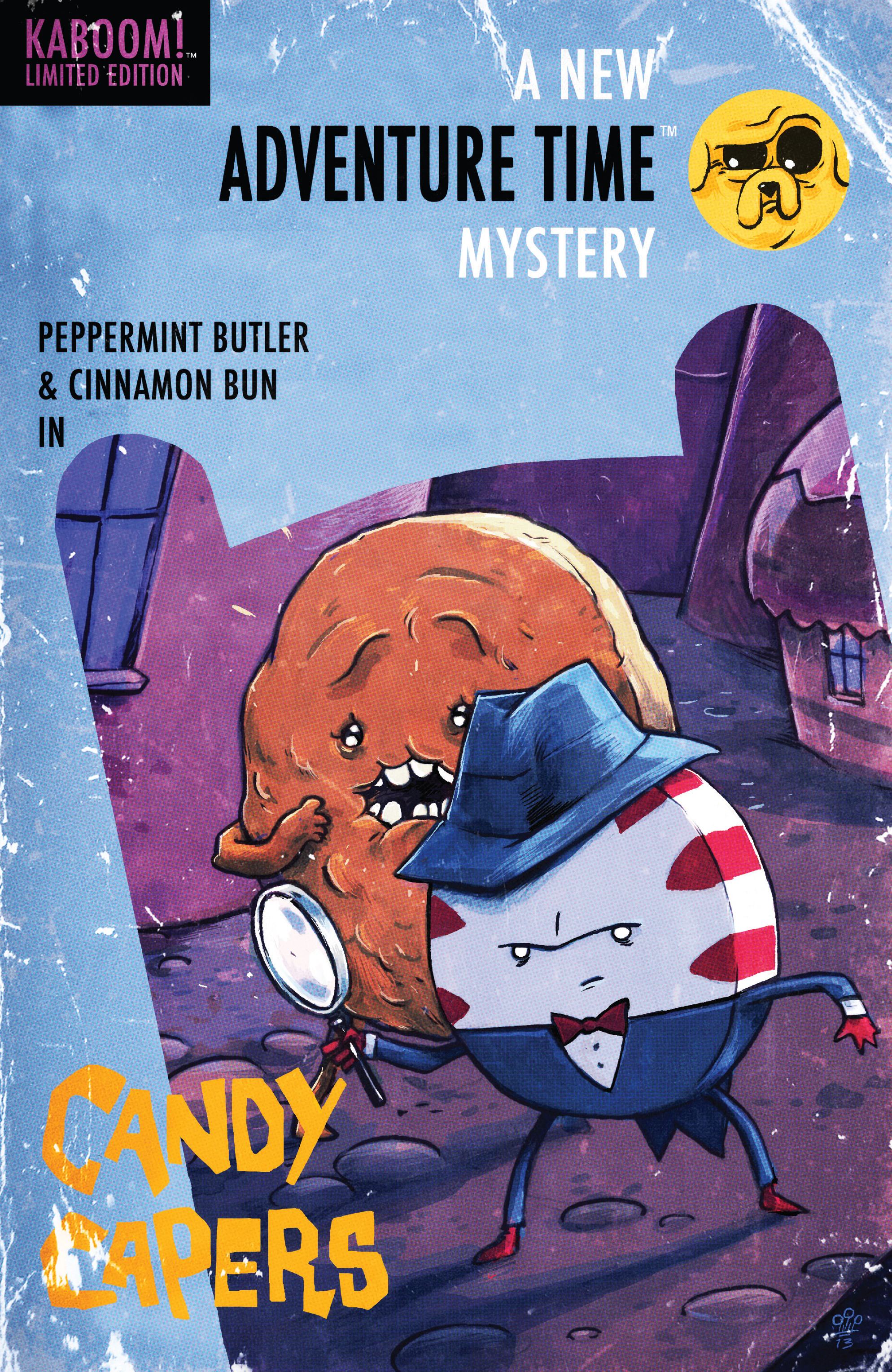 Read online Adventure Time: Candy Capers comic -  Issue #4 - 4