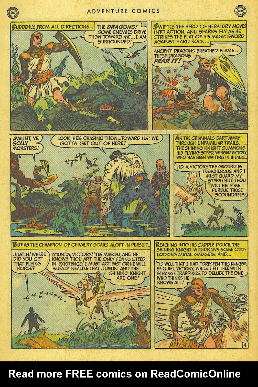 Read online Adventure Comics (1938) comic -  Issue #155 - 30