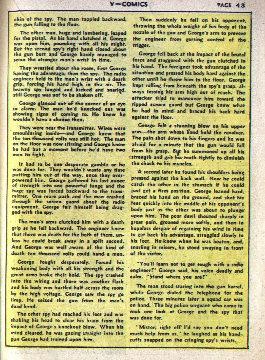 Read online V...- Comics comic -  Issue #1 - 44