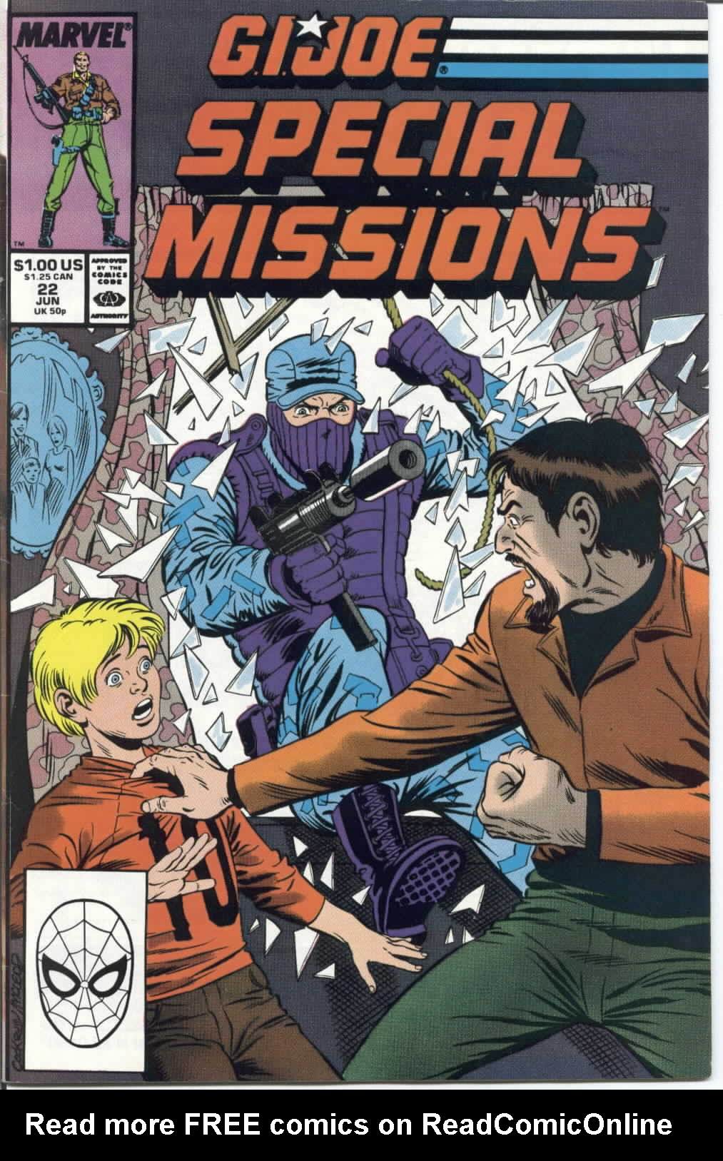 G.I. Joe Special Missions 22 Page 1