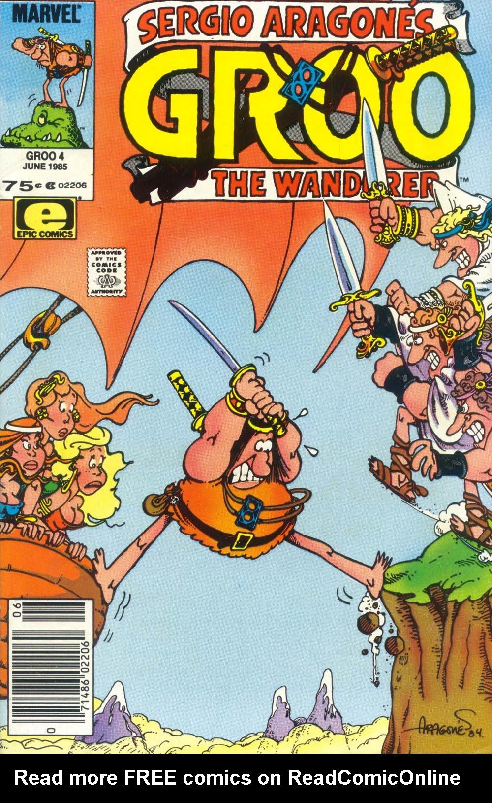 Read online Sergio Aragonés Groo the Wanderer comic -  Issue #4 - 1