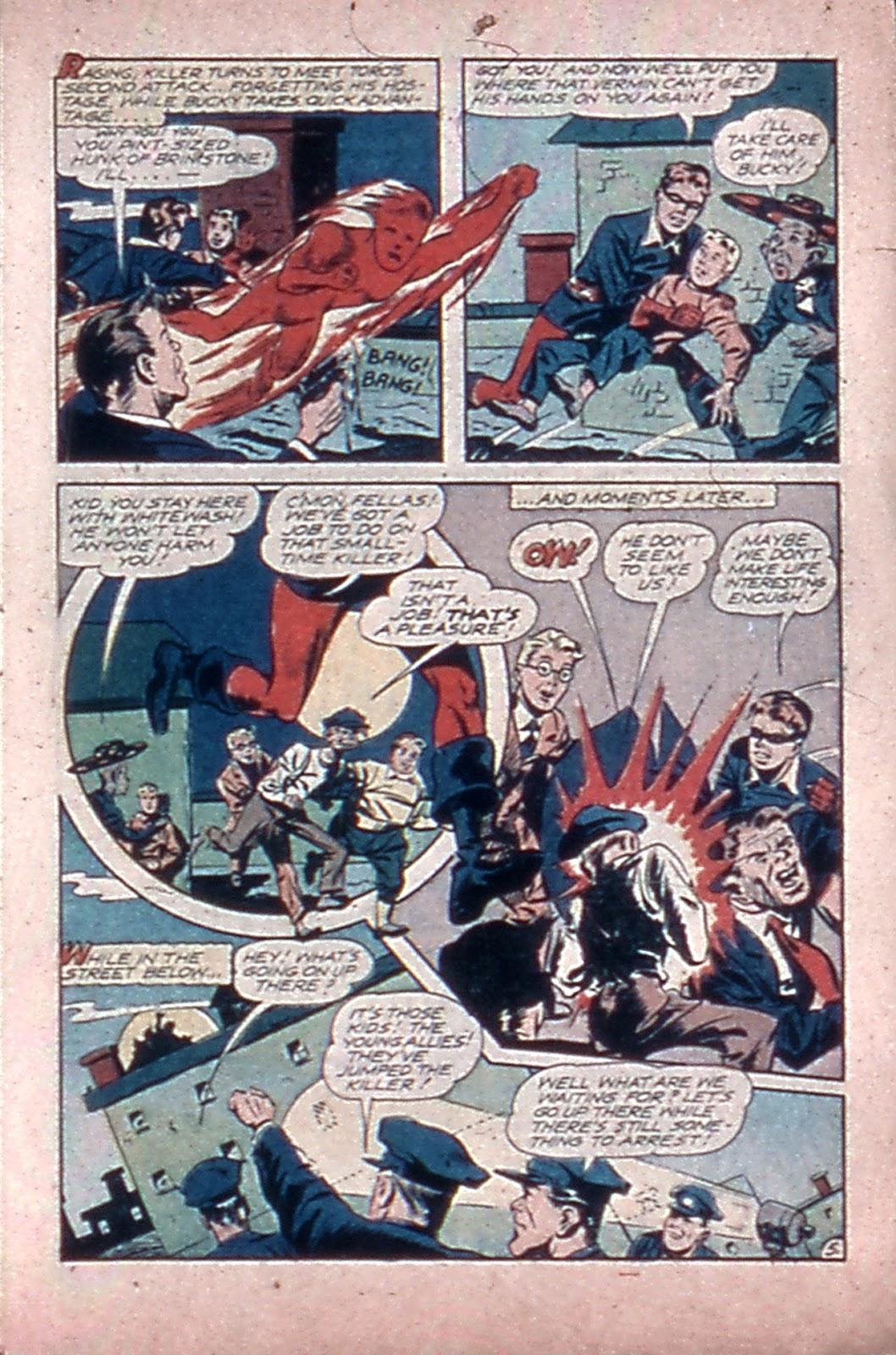 Read online Mystic Comics (1944) comic -  Issue #4 - 7