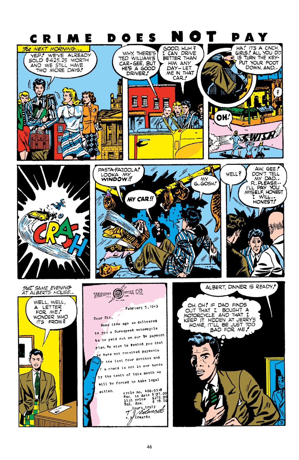 Read online Crime Does Not Pay Archives comic -  Issue # TPB 2 (Part 1) - 46