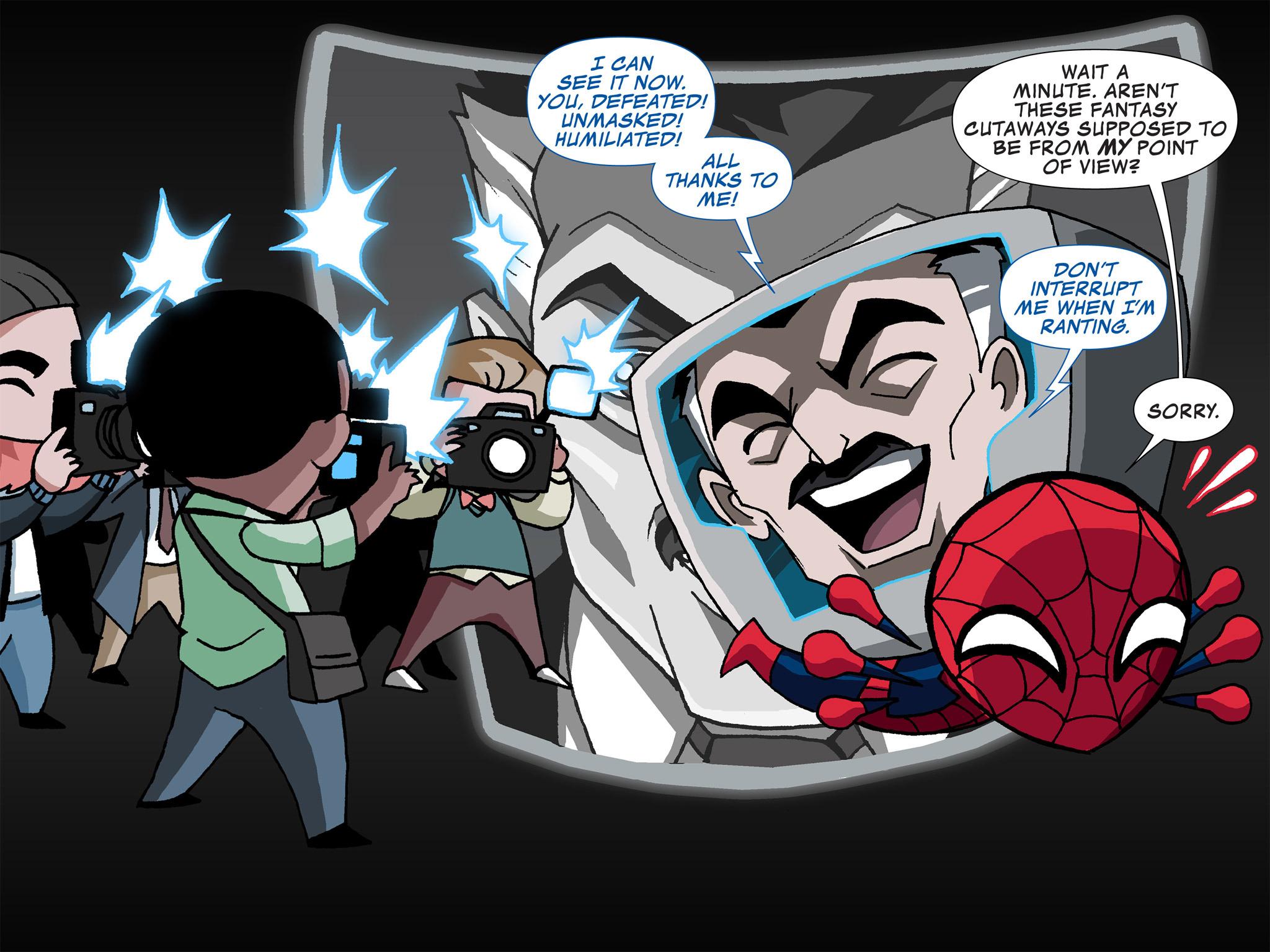 Read online Ultimate Spider-Man (Infinite Comics) (2015) comic -  Issue #4 - 7
