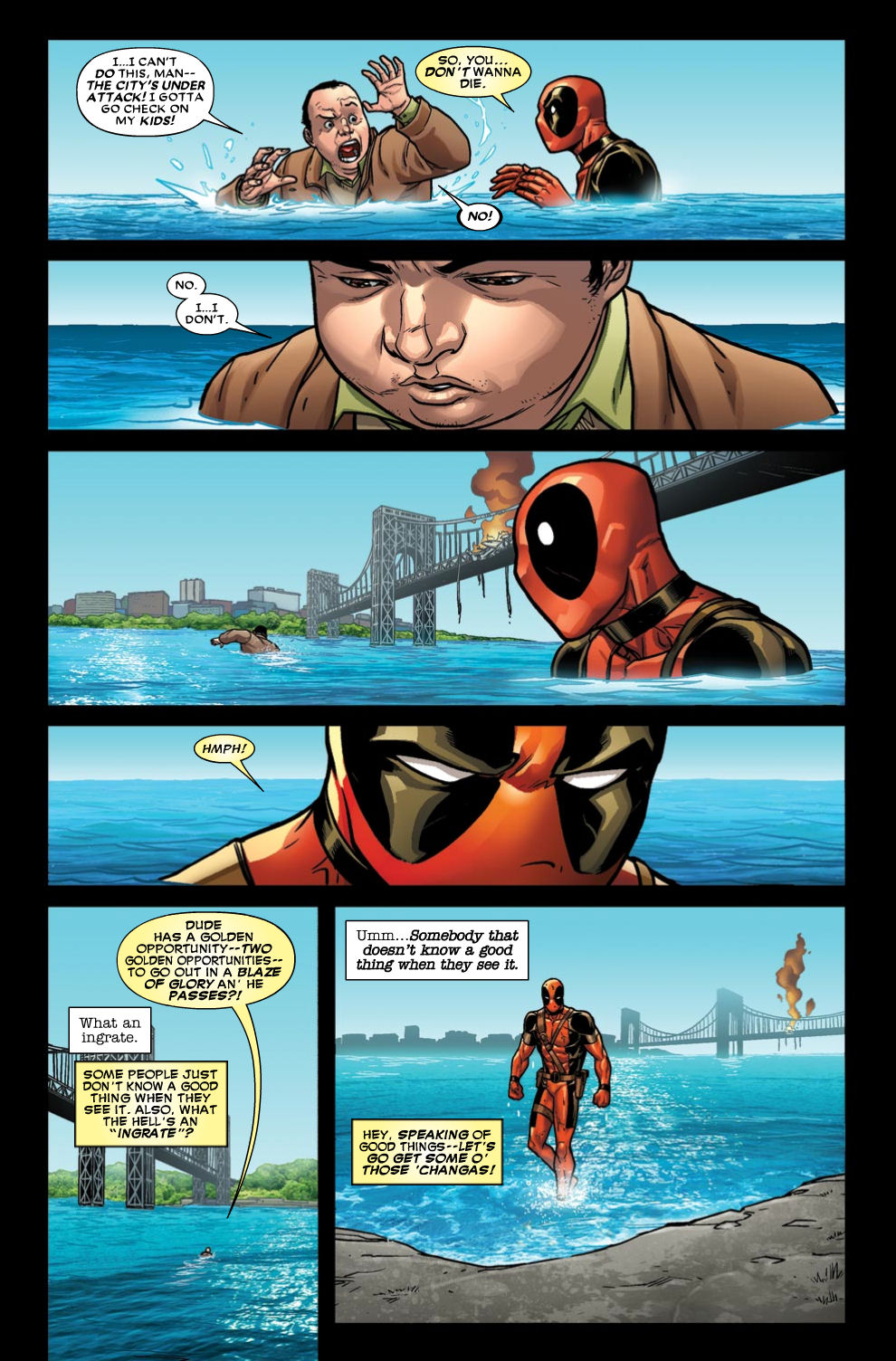 Read online Deadpool (2008) comic -  Issue #46 - 4