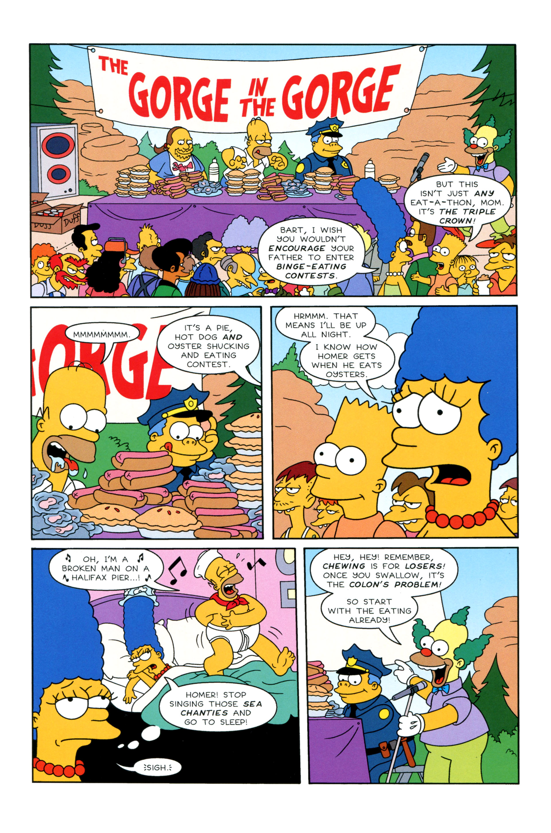 Read online Simpsons Illustrated (2012) comic -  Issue #8 - 4