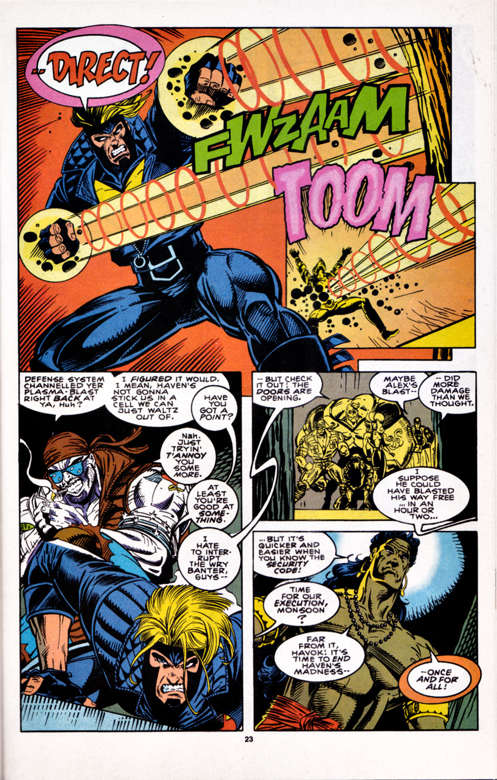 Read online X-Factor (1986) comic -  Issue #100 - 19