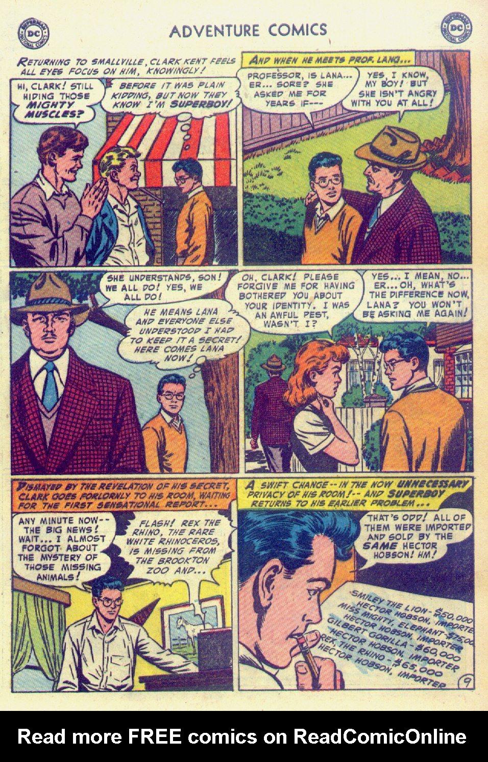 Read online Adventure Comics (1938) comic -  Issue #201 - 11