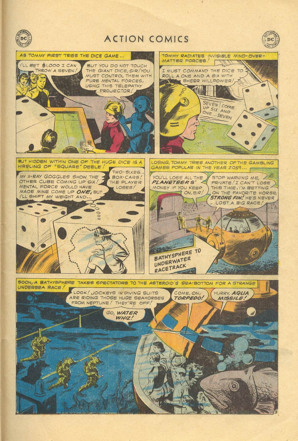 Read online Action Comics (1938) comic -  Issue #249 - 29