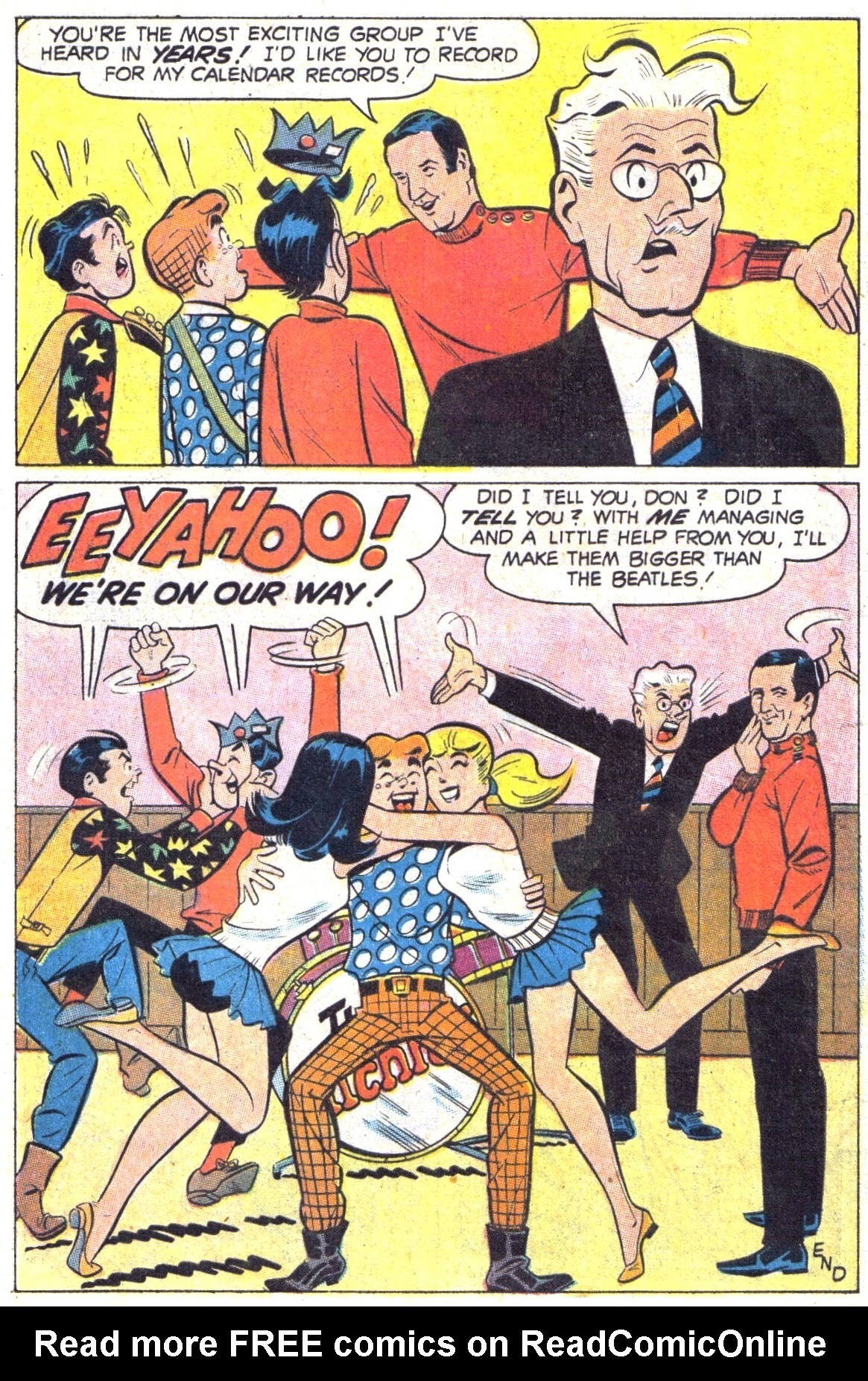 Read online Archie (1960) comic -  Issue #189 - 8
