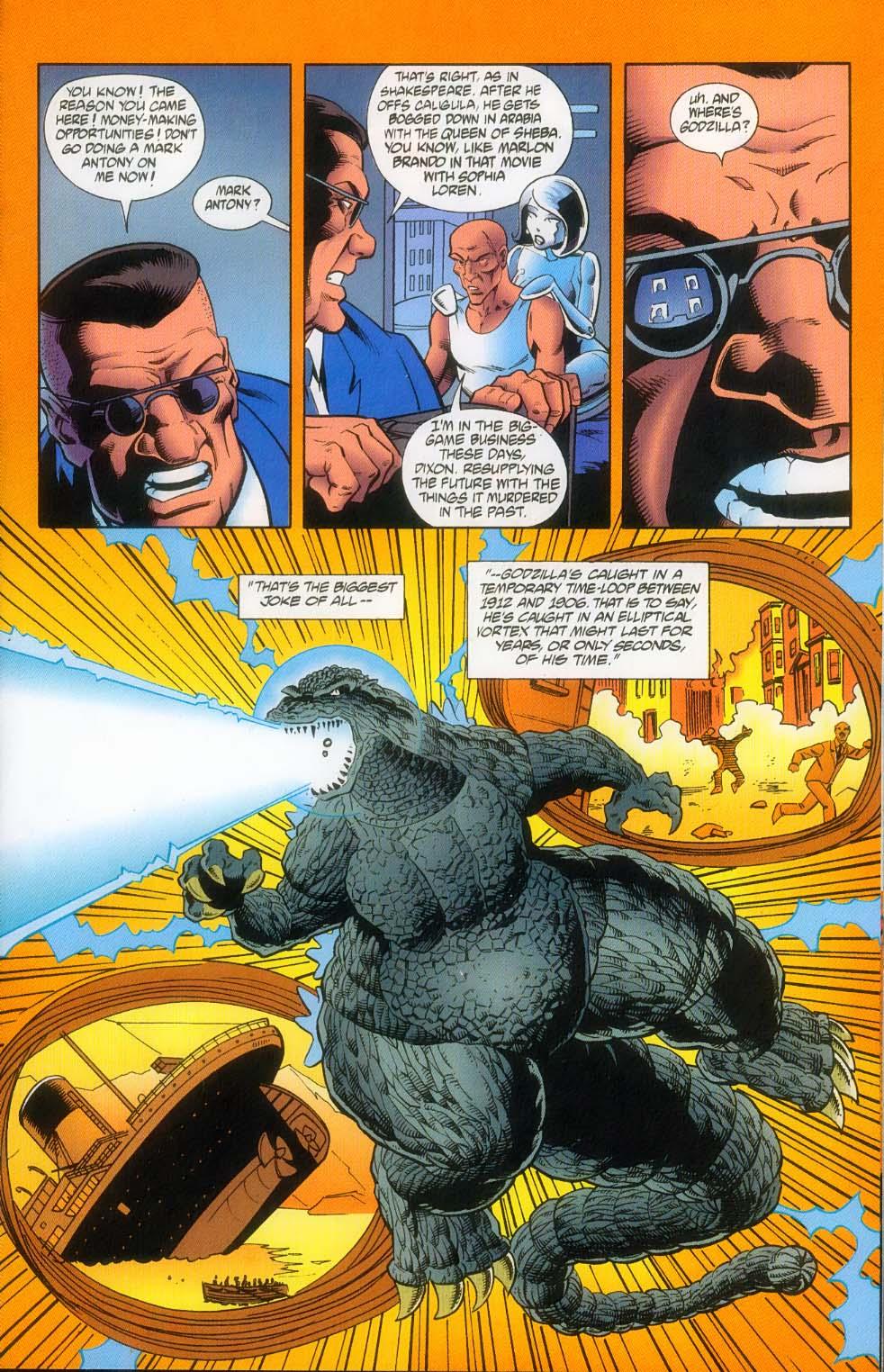 Godzilla (1995) Issue #12 #13 - English 10