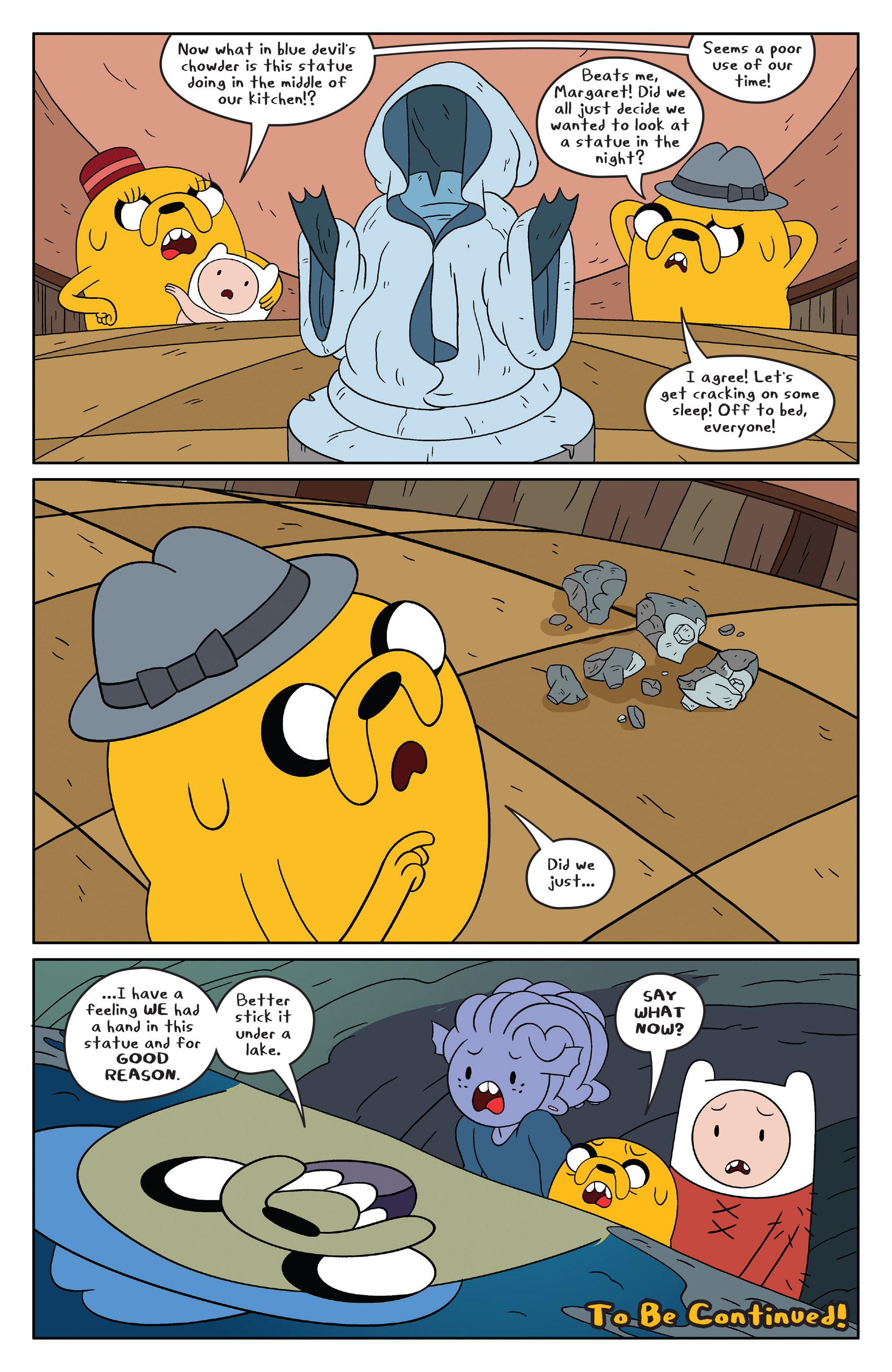 Read online Adventure Time comic -  Issue #48 - 20