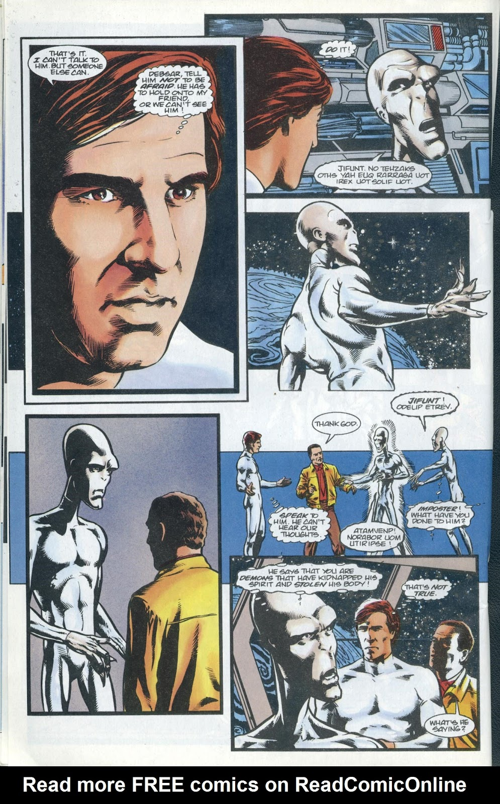 Read online Quantum Leap comic -  Issue #13 - 12