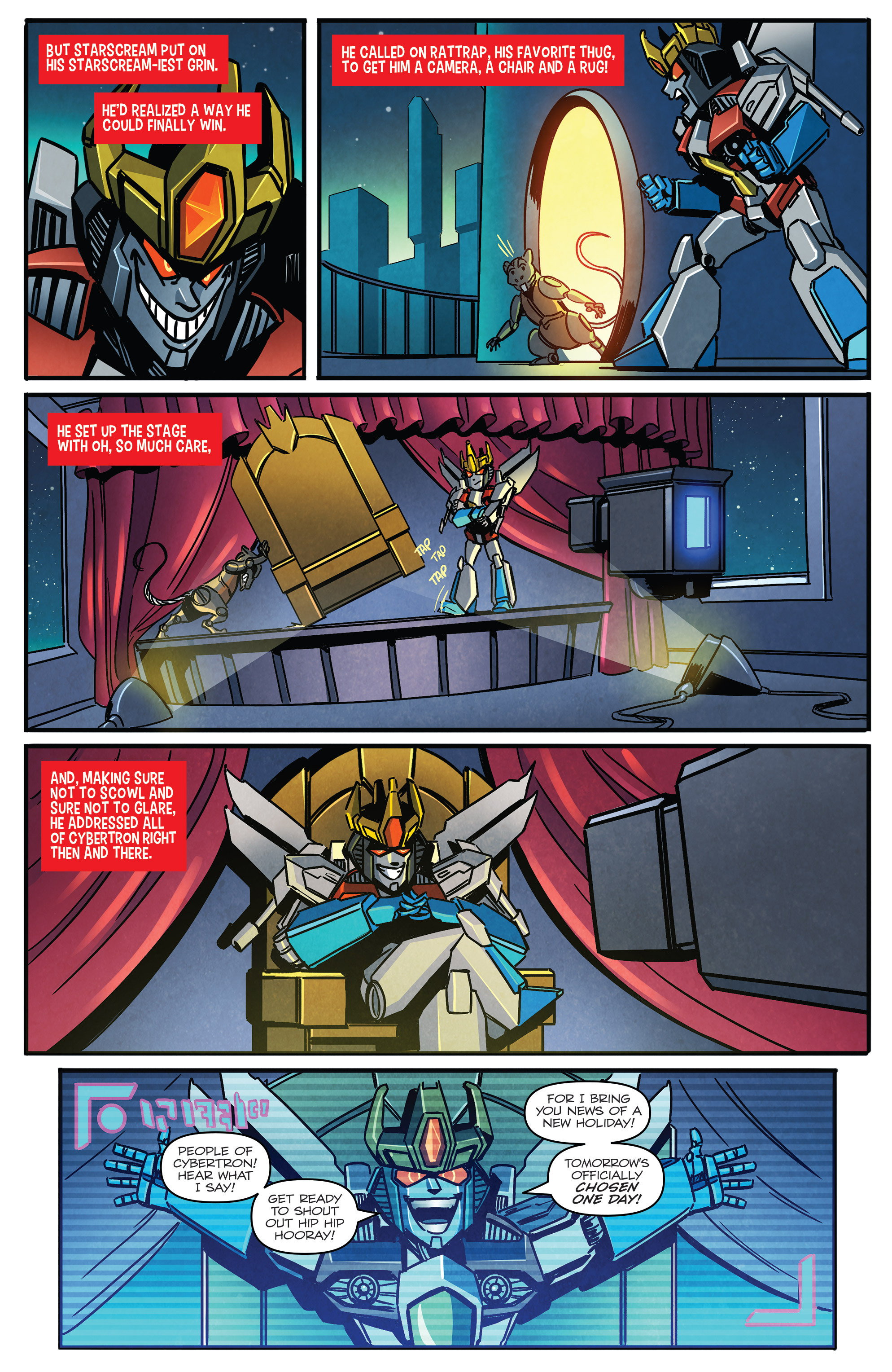 Read online Transformers: Holiday Special comic -  Issue # Full - 5