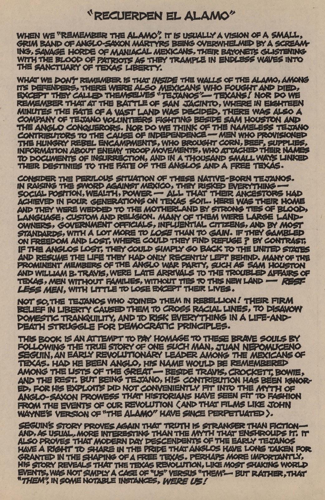 Recuerden el Alamo issue Full - Page 4