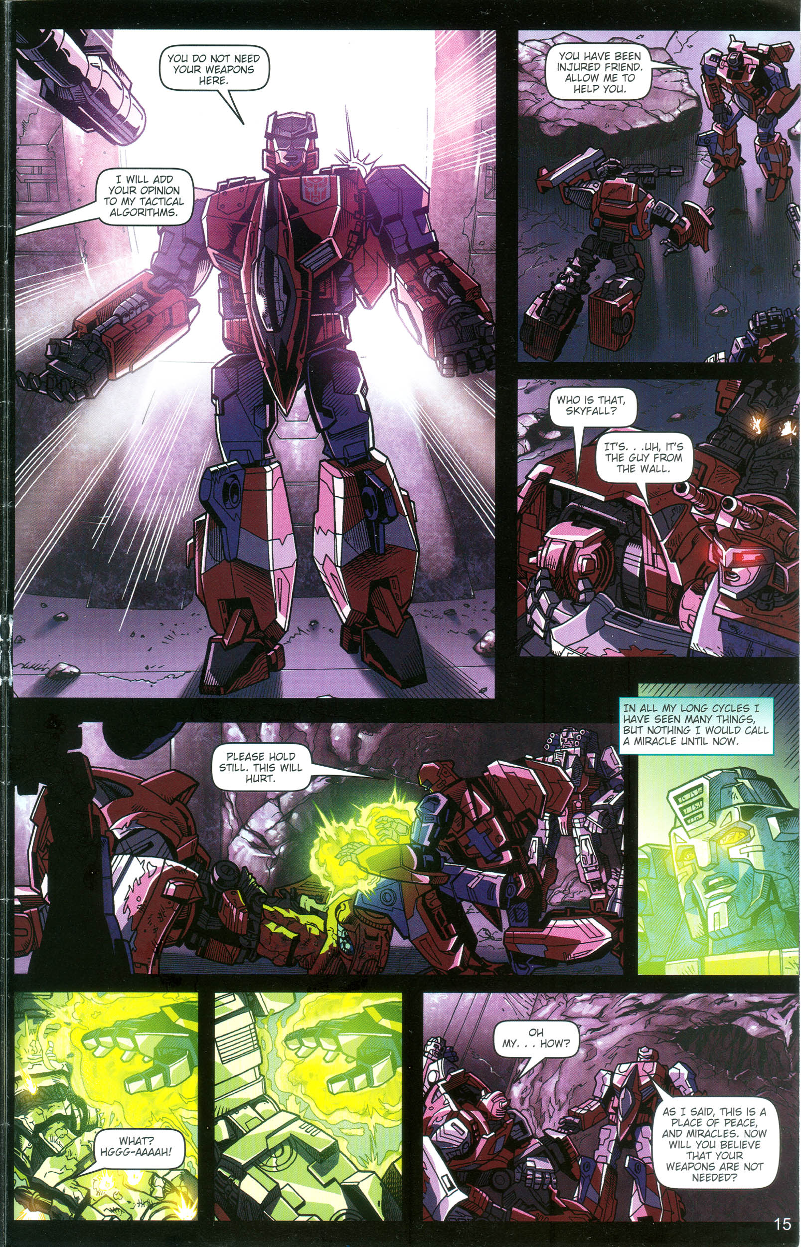 Read online Transformers: Collectors' Club comic -  Issue #16 - 15