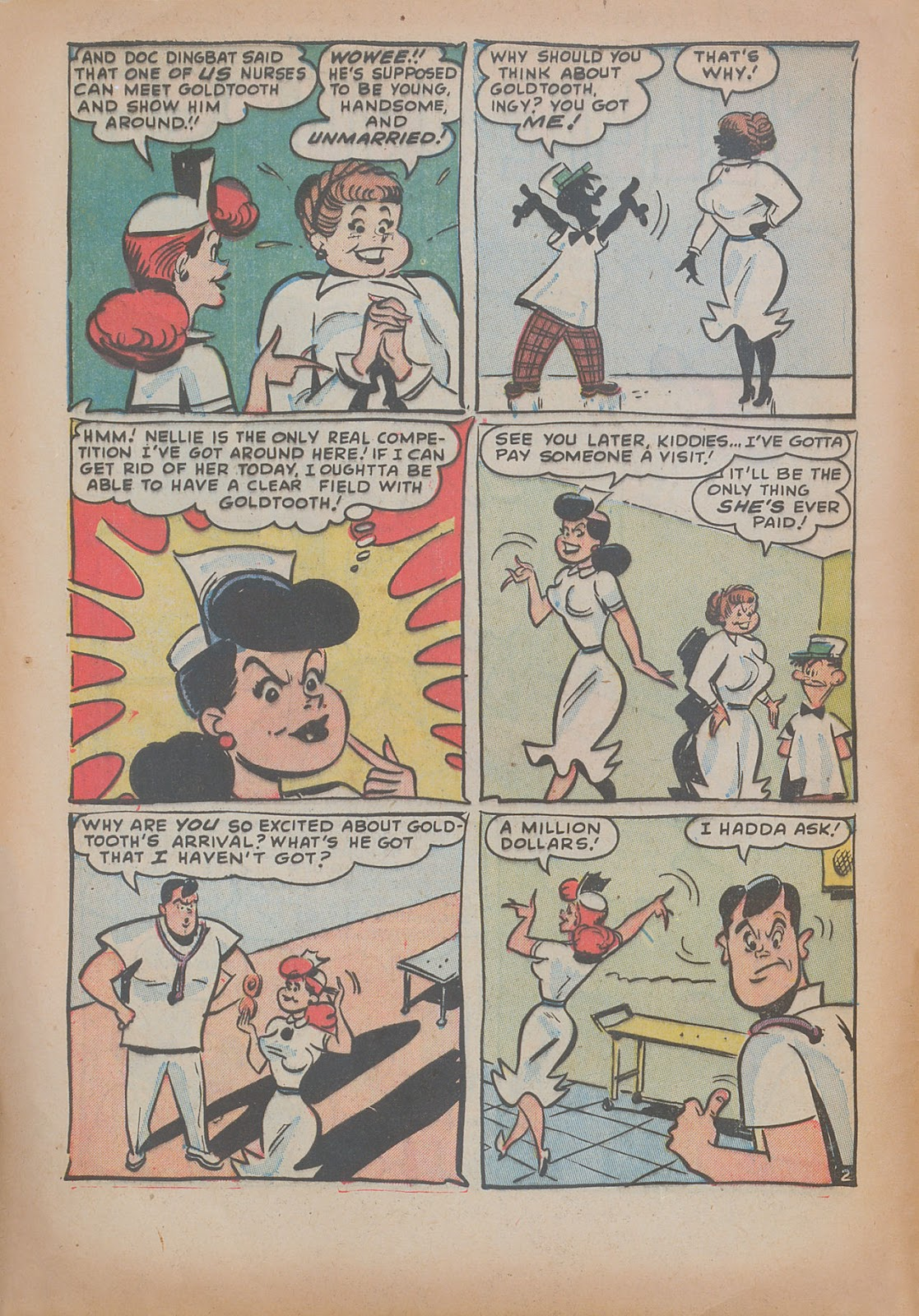 Read online Nellie The Nurse (1945) comic -  Issue #31 - 4