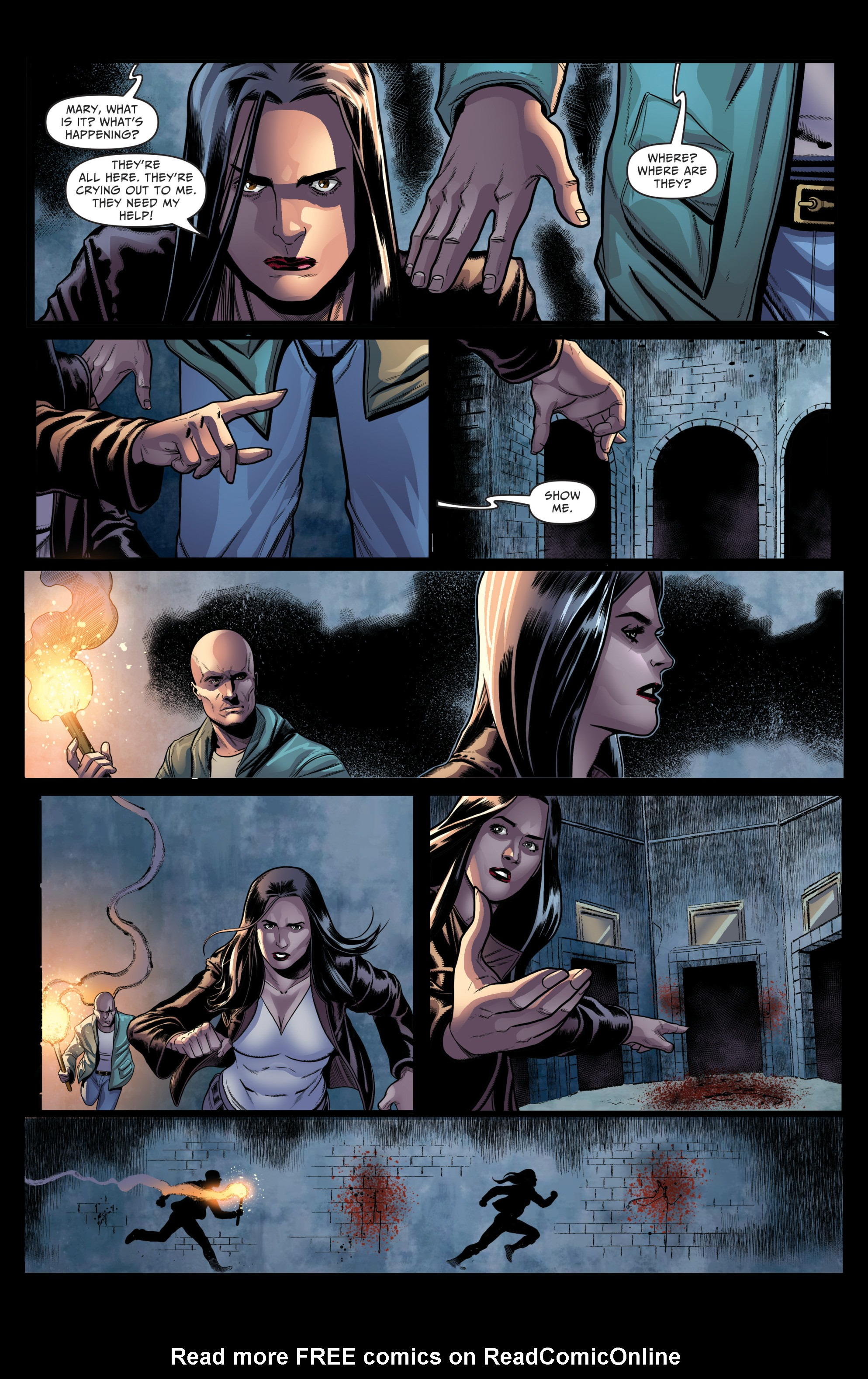 Read online Grimm Fairy Tales: Day of the Dead comic -  Issue #4 - 22